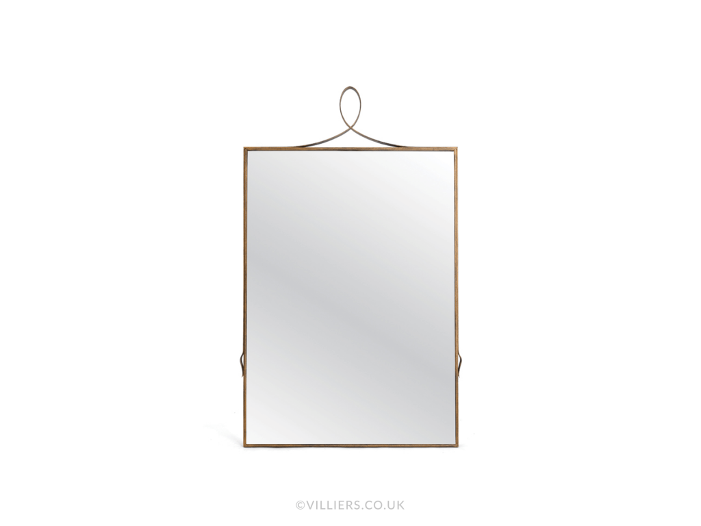 Byron Mirror - Gold
