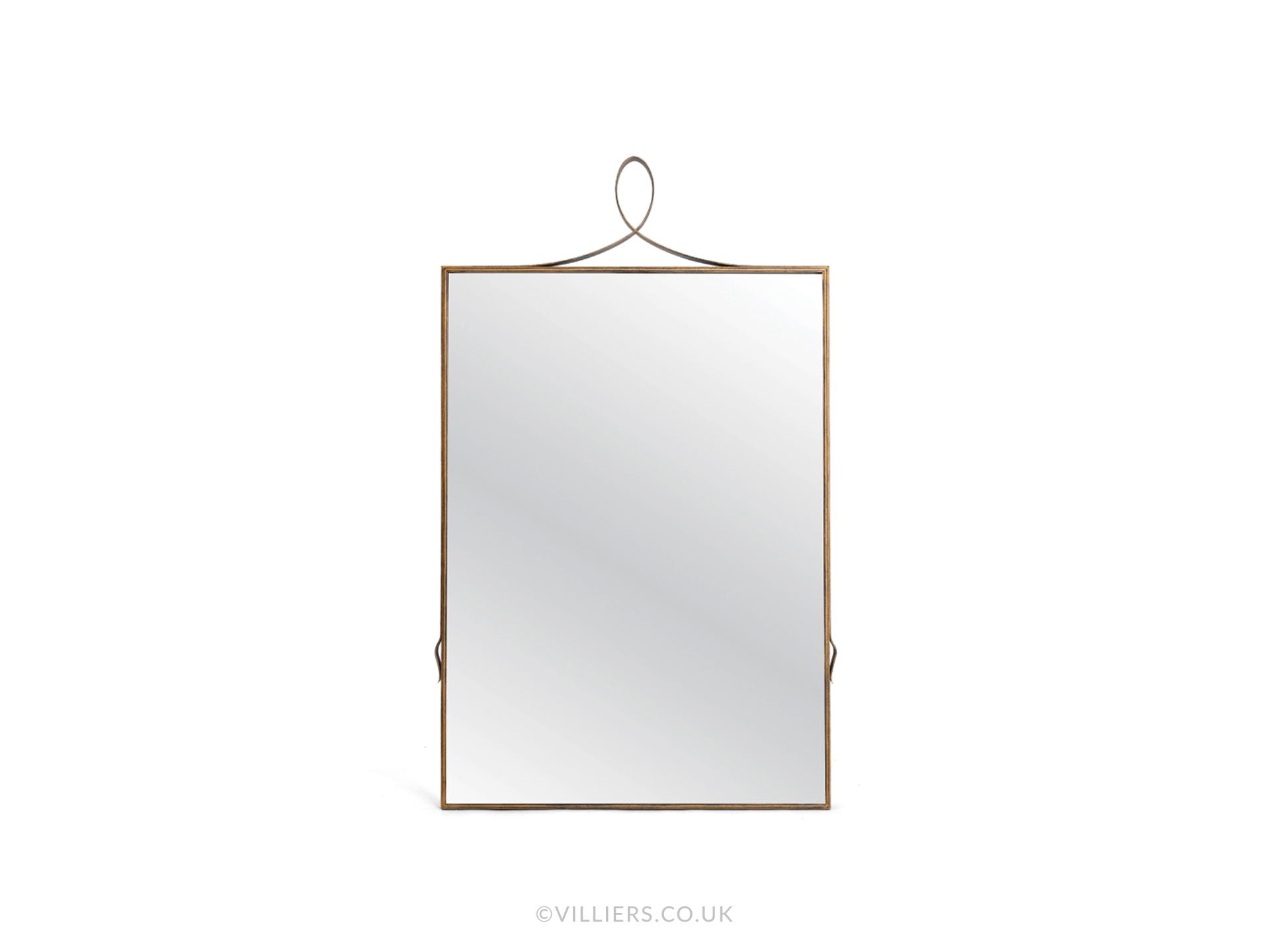 Byron Mirror - Gold