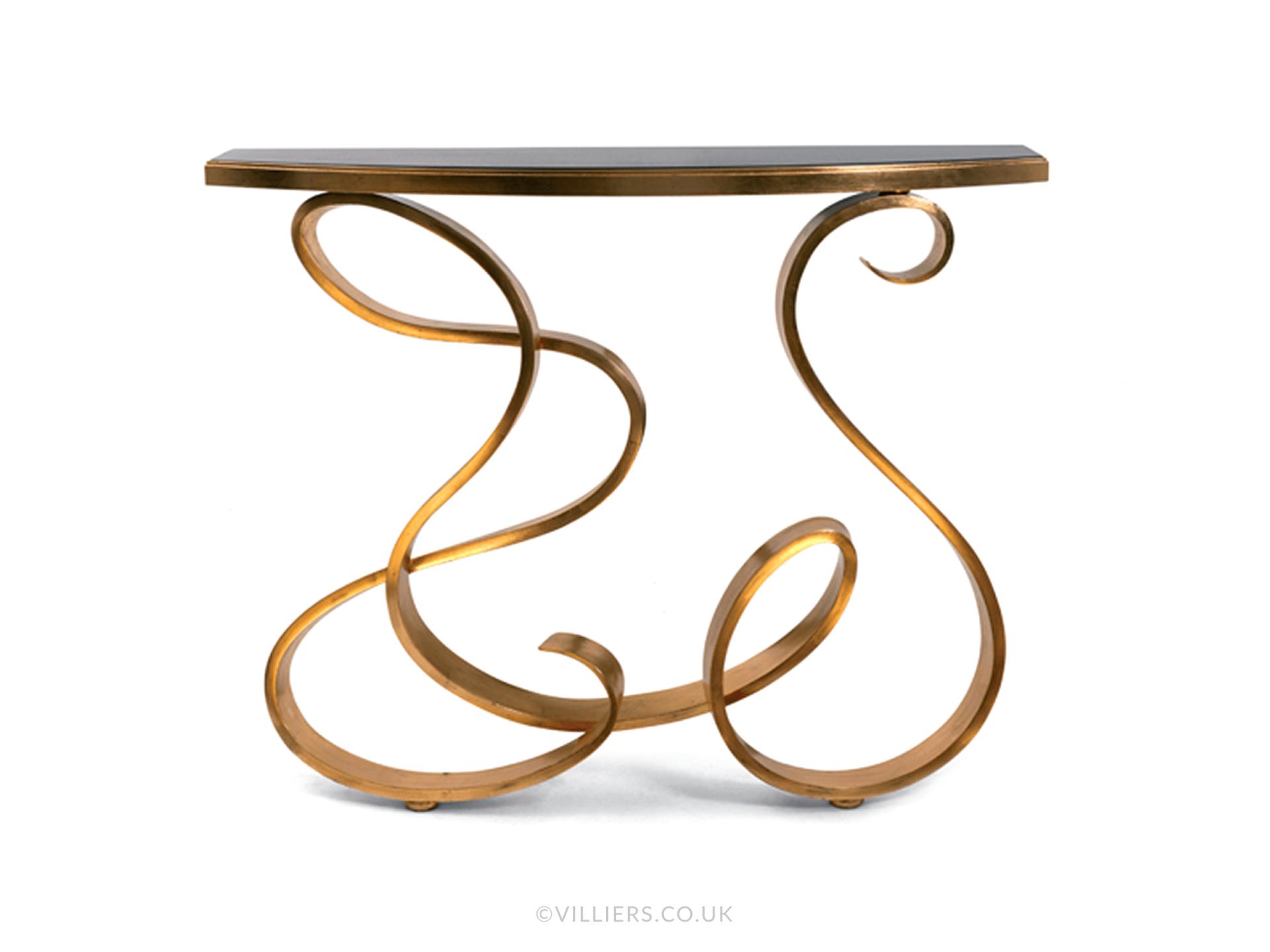 Calypso Console Table - Gold