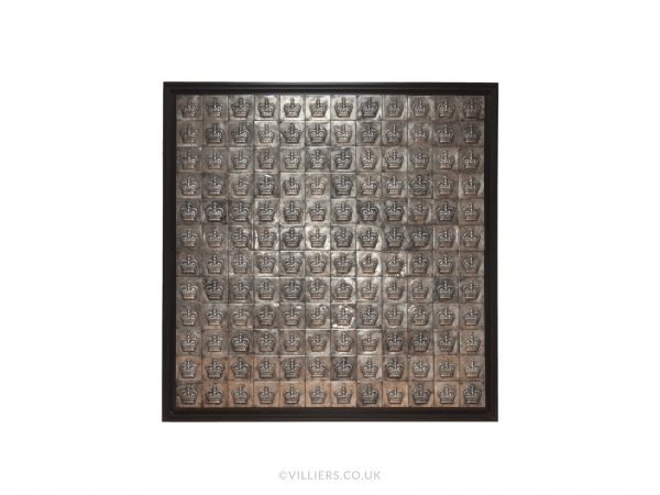Crown Wall Art - Silver