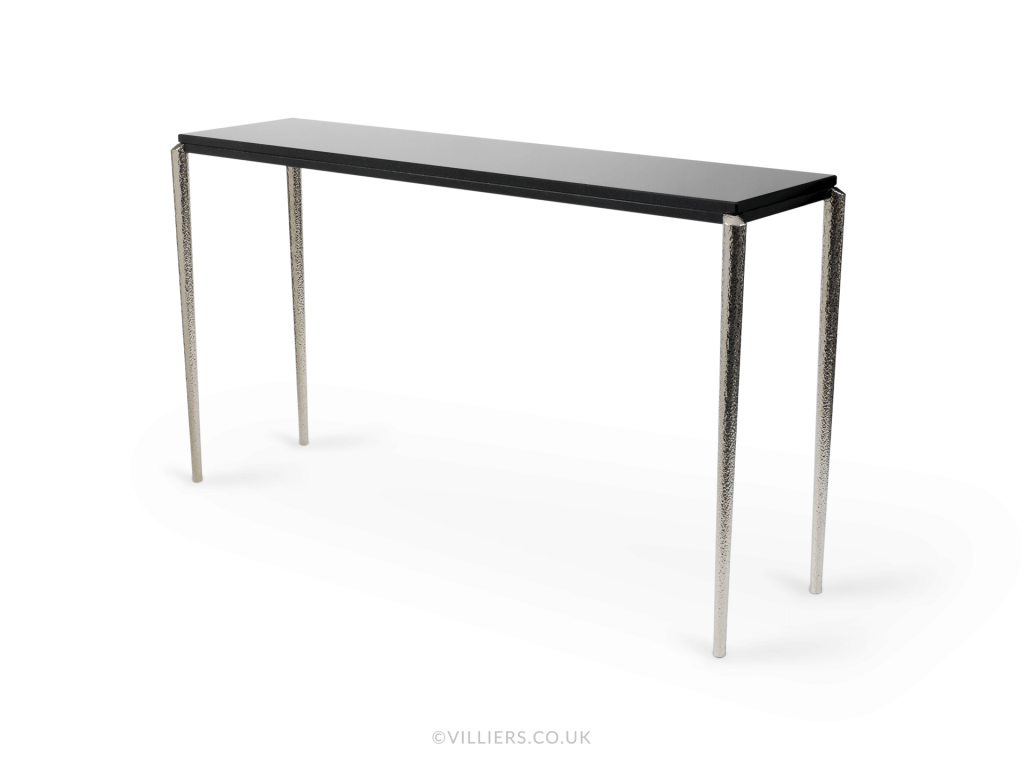 Stiletto Console Table - Nickel