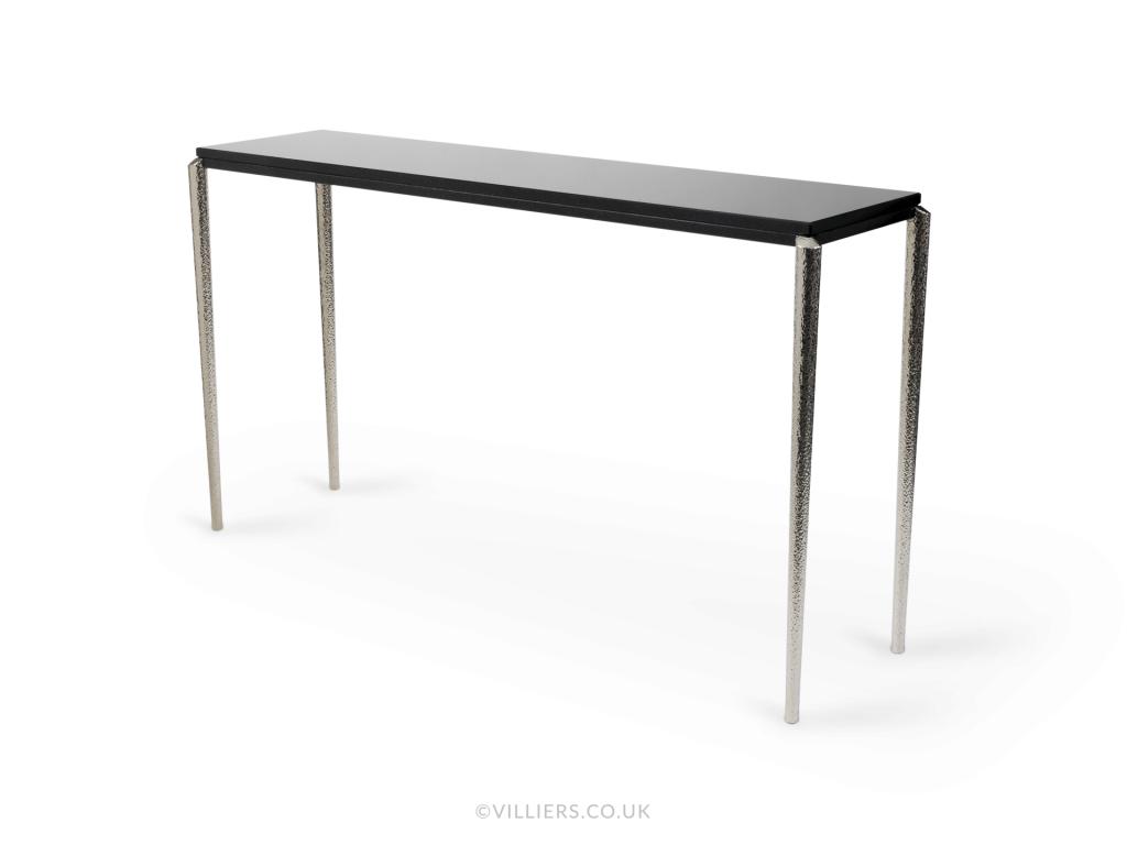 Stiletto Console Table - Nickel