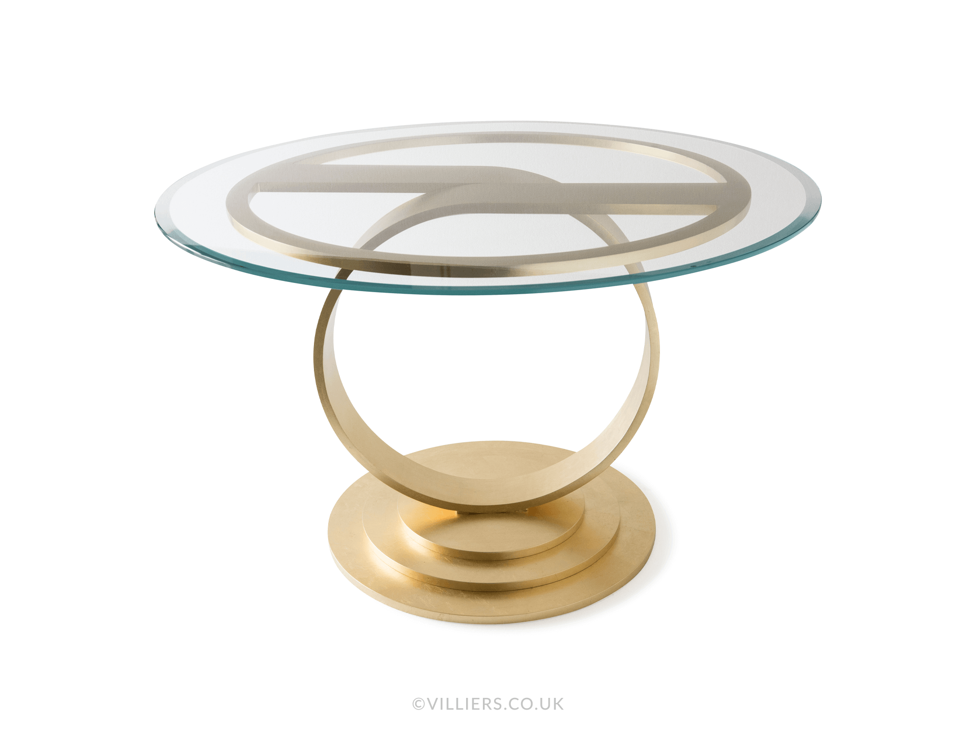 Tempest Centre Table - Gold