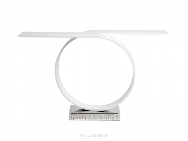 Tempest Console Table - White