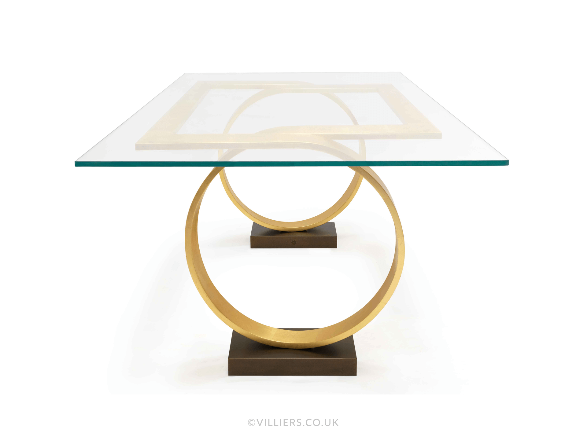 Tempest Dining Table - Gold