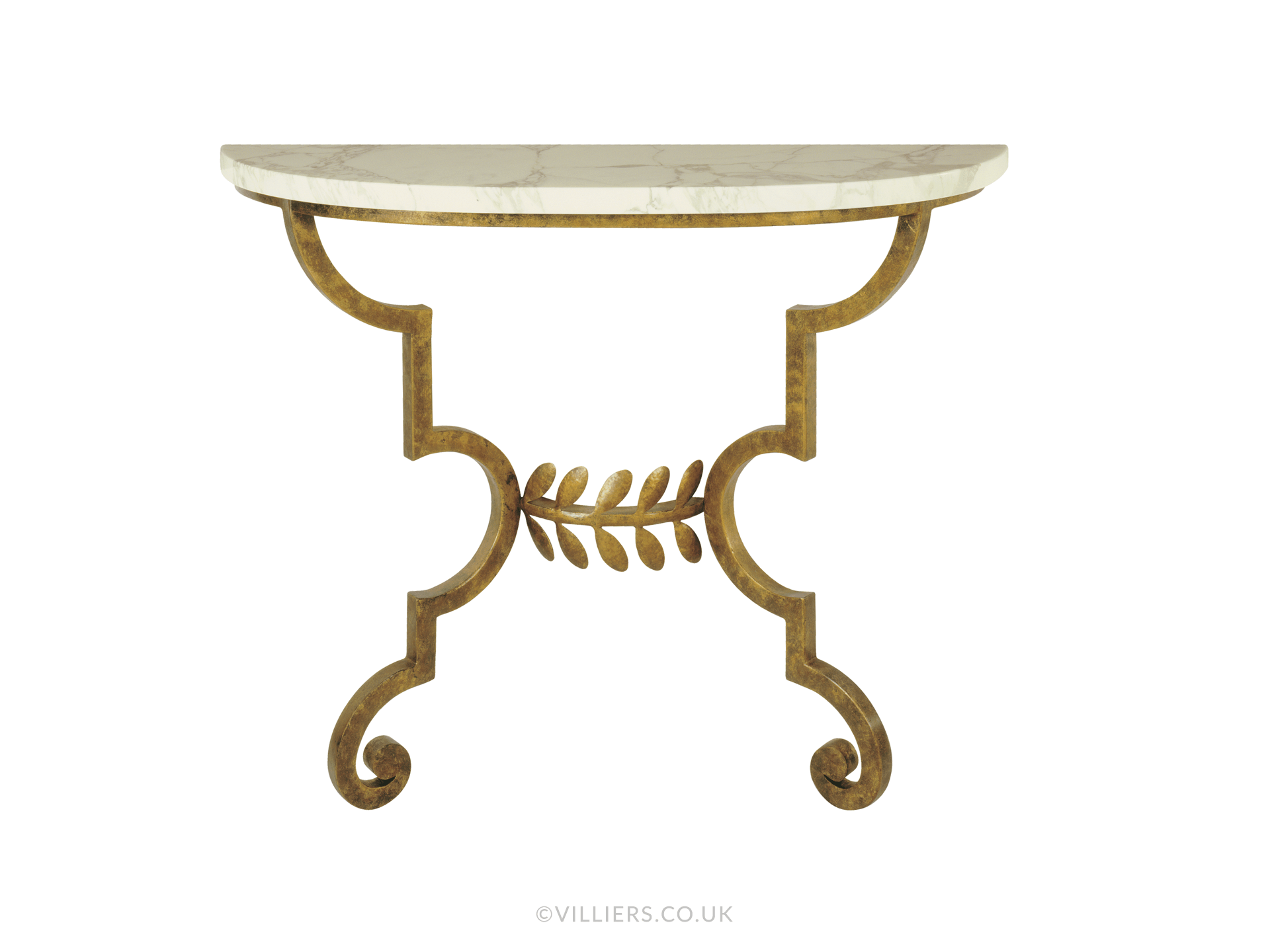 Toga Console Table - Gold