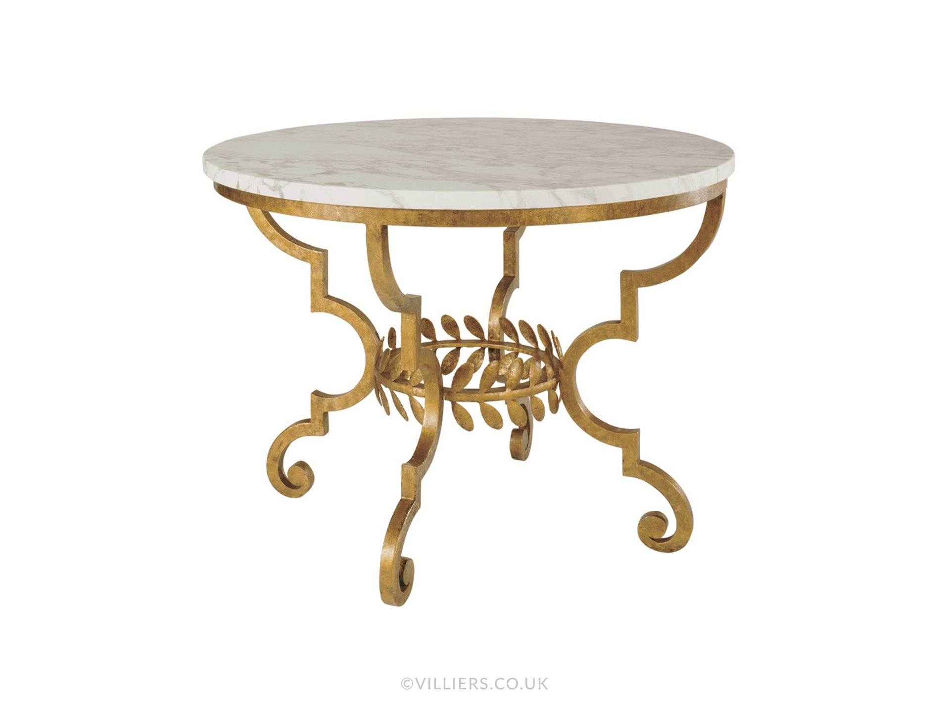 Toga Dining Table - Gold