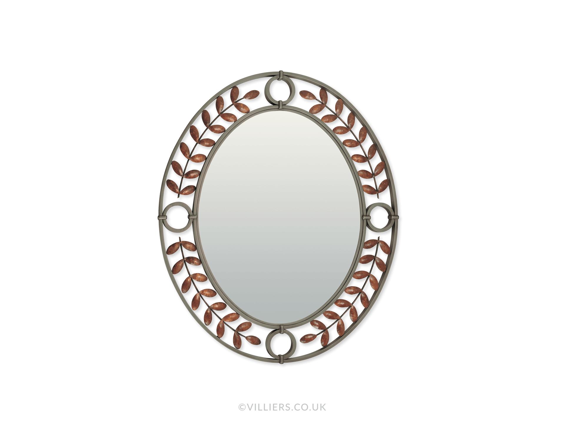 Toga Oval Mirror