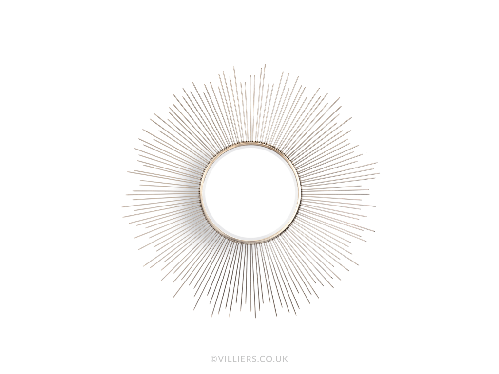 Urchin Mirror - Gold
