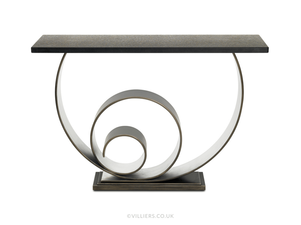 Vertigo Console Table - Antique
