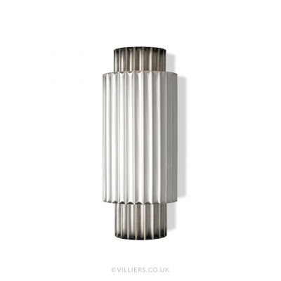 Hercules Wall Light - Satin Nickel Silver