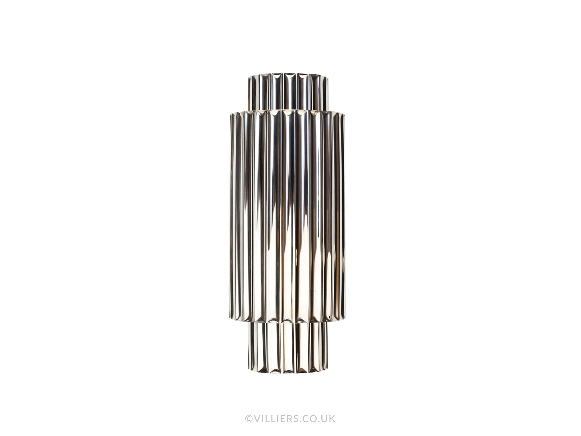 Hercules Wall Light - Nickel