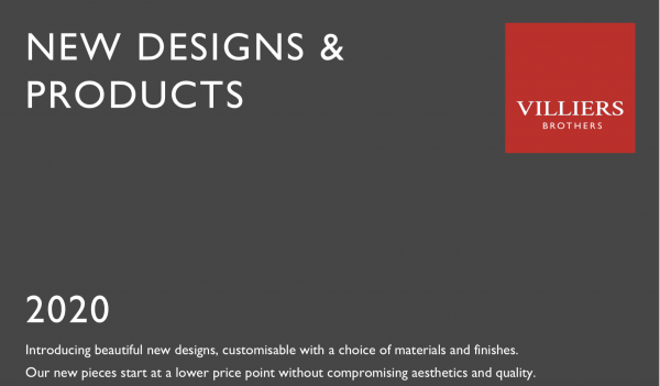 Villiers Brothers New Designs and Products Brochure
