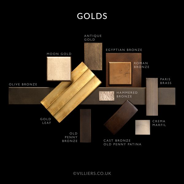 Gold Finishes by Villiers Brothers